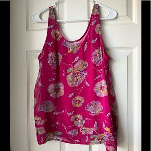 Old Navy Tops - Old Navy floral layered tank